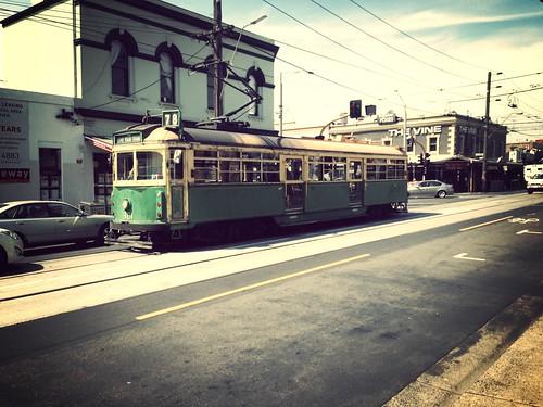 Love an old tram