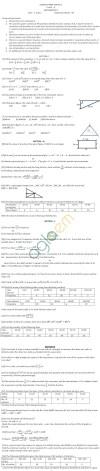 CBSE Class X: Maths - Practice Paper SA-1