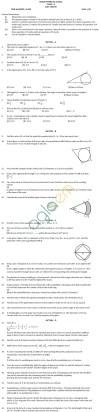 CBSE Class X: Maths - Practice Paper SA-2