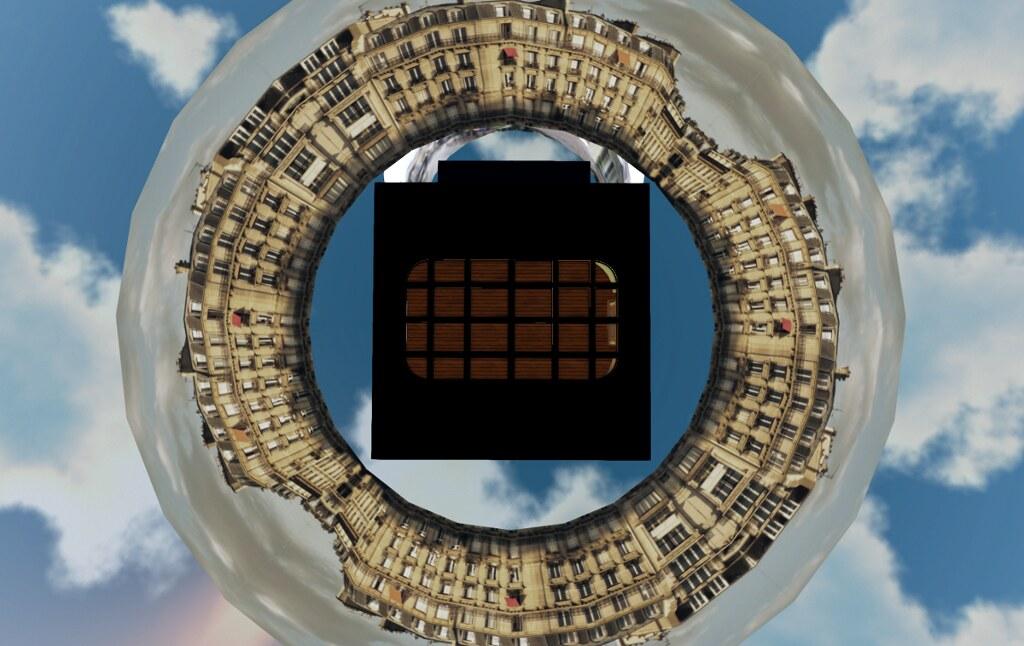 [ba]'s Paris Penthouse, seen from above