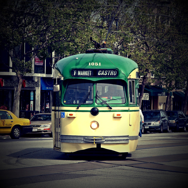 Streetcar to the Castro in San Francisco