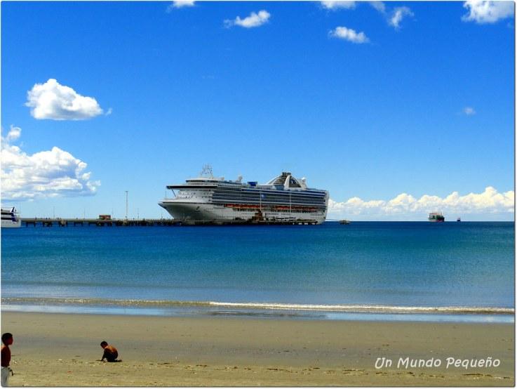 Crucero Grand Princess en P. Madryn