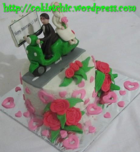 Cake Vespa
