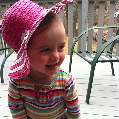 #goof in a #easter #bonnet