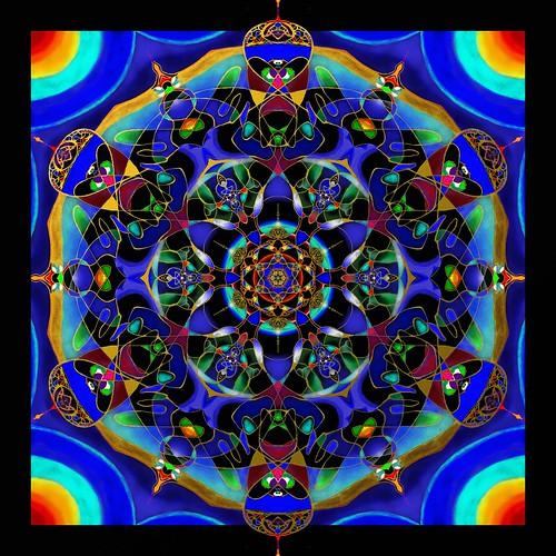 mandala2 by Wolfgang Schweizer