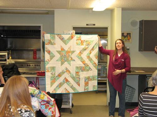 Dina's star quilt