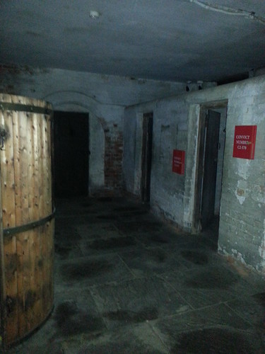 Ghost Hunt at Galleries of Justice - The Washroom