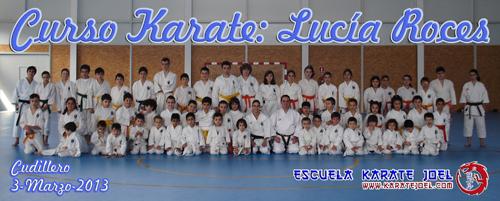 Curso Karate Lucia Roces