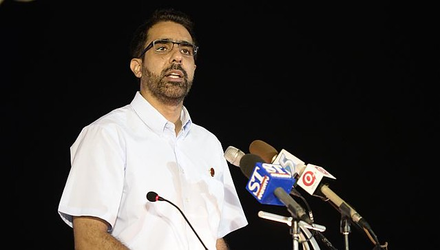 MP for Aljunied GRC, Pritam Singh (image via StraitsTimes.com)
