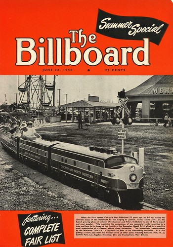 Just another walk down Memory Lane the Great Melrose Park Kiddieland highlighted in local Billboard  Magazine .