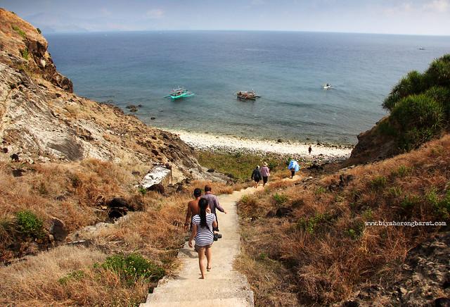 Stairs Capones Island San Antonio Zambales