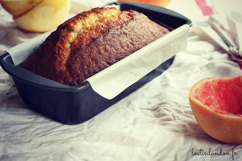 cake pamplemousse huile d'olive