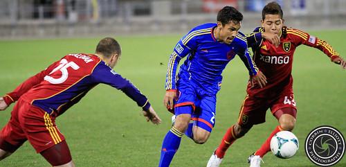 Davy Armstrong, Reserve Match, Colorado Rapids vs Real Salt Lake Apr. 6th 2013 by Corbin Elliott Photography