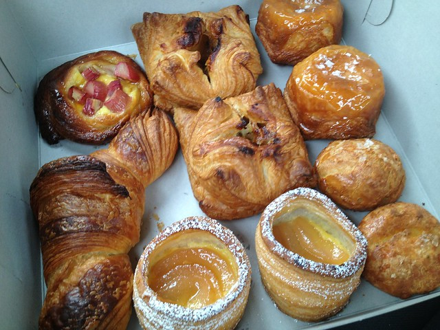 Assorted pastries - Honore Artisan Bakery