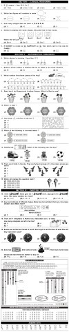 IMO 2nd Level Sample Papers - Class 1
