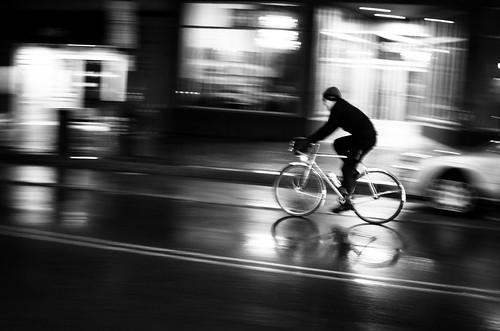 Cycling in Rainy Portland