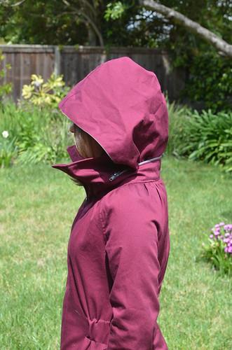 Minoru Jacket  Fully Hooded