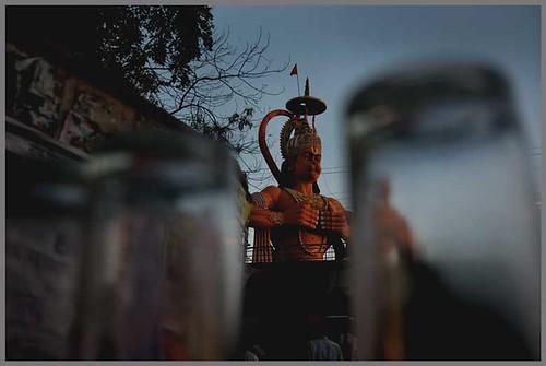 Hanumman statue by Gireesh G V