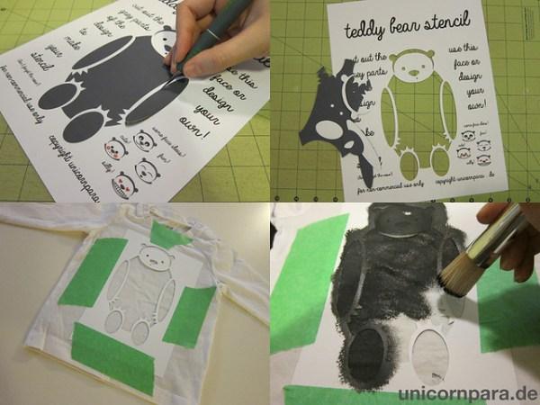 Shirt Stencil DIY