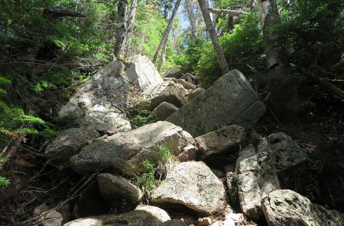 Passaconaway Steep Descent