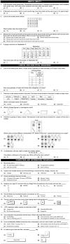 NCO 2nd Level Sample Papers - Class 3