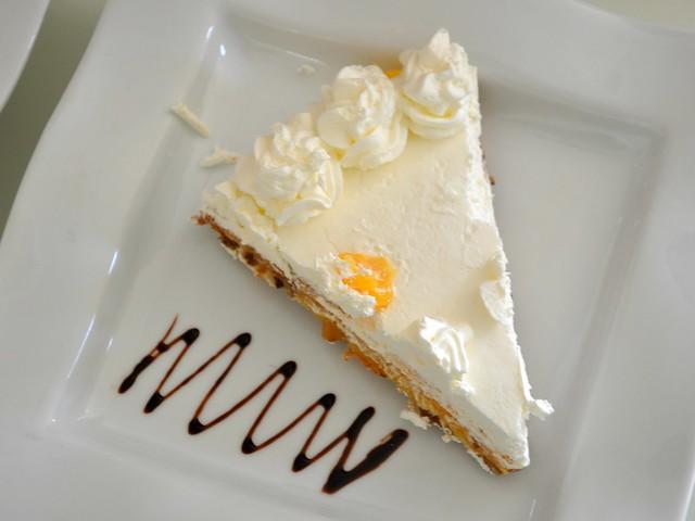 Lemon Torte at Dulcelise Dessert Bar