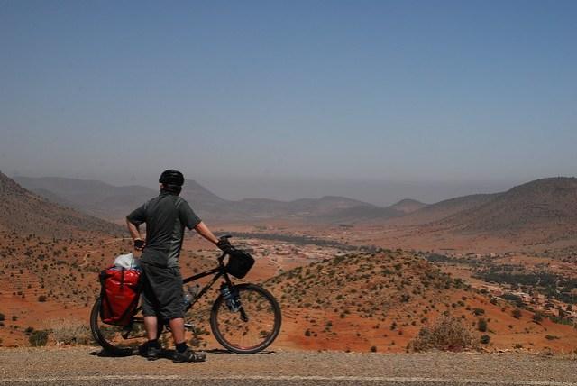 Descending From The Atlas Mountains - Morocco