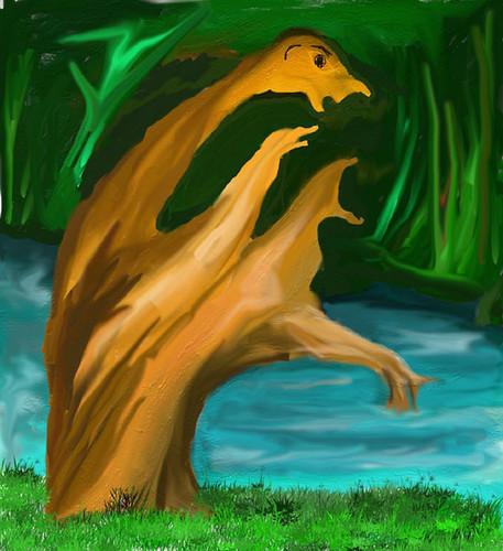 wooden figure #2