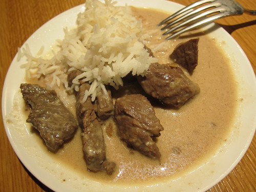 Fillet Steak in Coffee Sauce