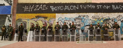 Demonstration police