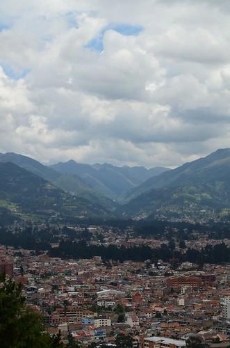 Cuenca Eagle view