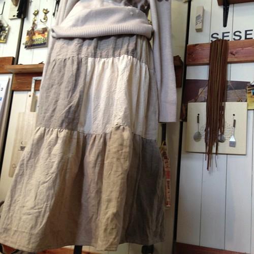 mifumiさんのギャザースカート、amiでもレッスンして頂くことになりました!