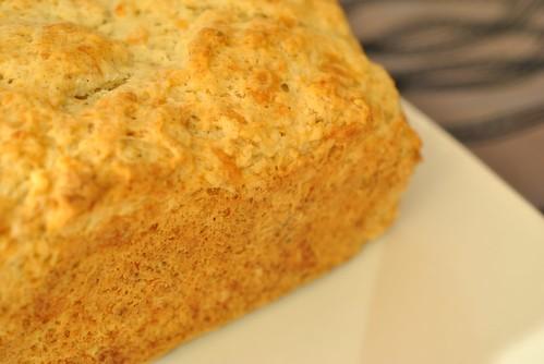 Beer Batter Cheese Bread
