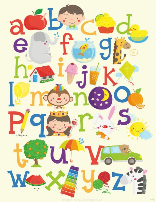 Wedgienet's alphabet