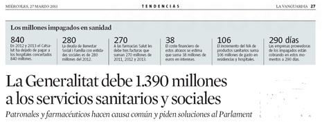 13c27 LV Deuda Generalitat a servicios sanitarios y sociales Uti 465