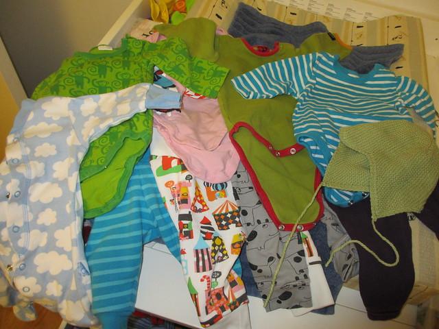 Axplock Sanderkläder, 5 månader