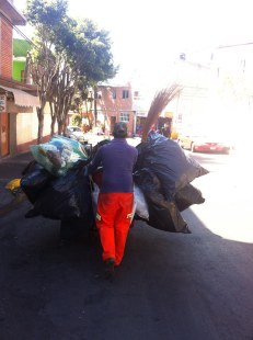 The garbage man in Mexico