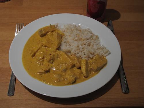 Lottas schnelles Lachs-Curry