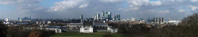London Panorama from Greenwich