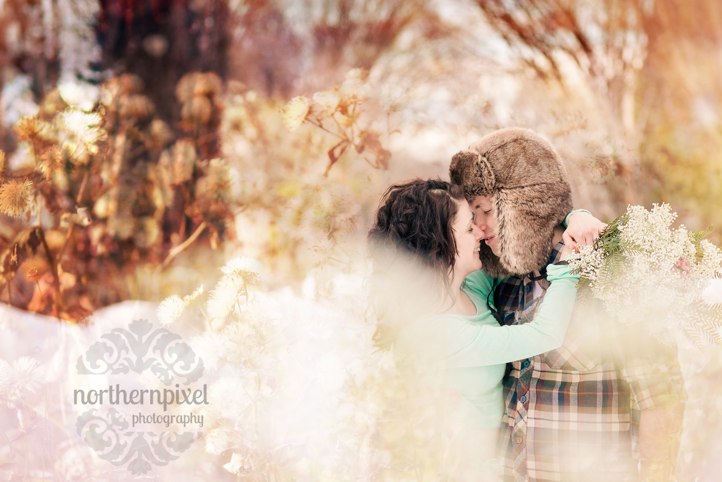 Jaclyn & Ethan's Winter Engagment