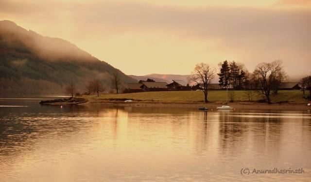 Glorious Loch Long in Western Highlands