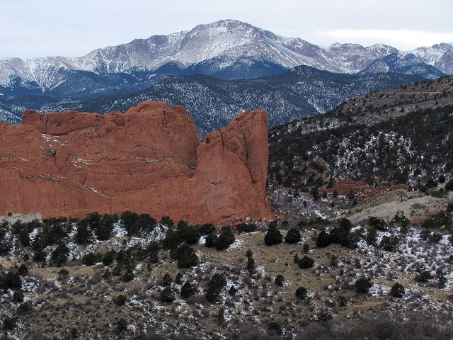South Gateway and Pikes Peak