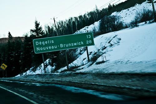 Degelis & Nouveau-Brunswick - #LexGoFurther - A Ford Escape
