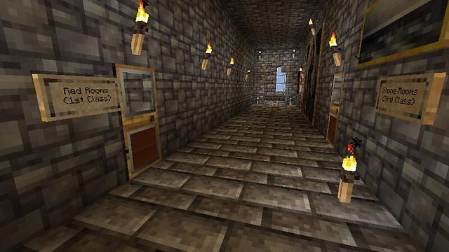 Minecraft Hotel - 2nd floor