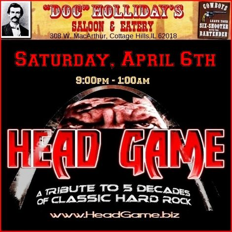Head Game 4-6-13