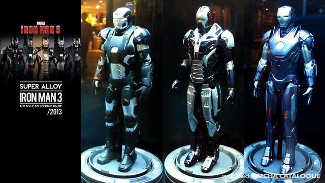 Super Alloy 1/12 IRON MAN 3 Figure Lineup Revealed