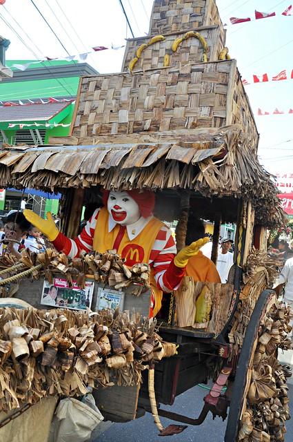 Ronald McDonald at the 2013 Pamulinawen Festival