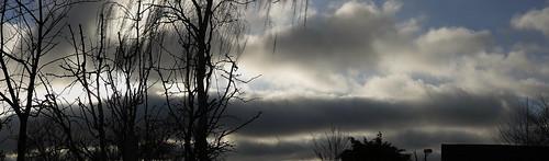 Swedish February sky