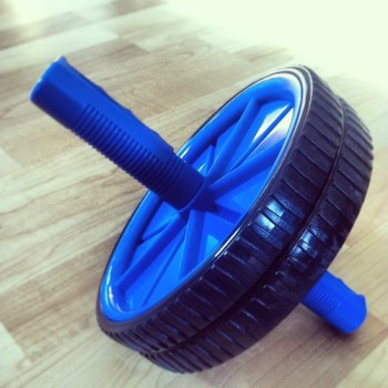 Smurf roller...aka Ab Roller. This thing works!