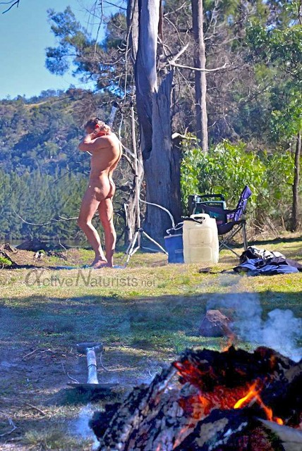naturist 0002 River Island, New South Wales, Australia